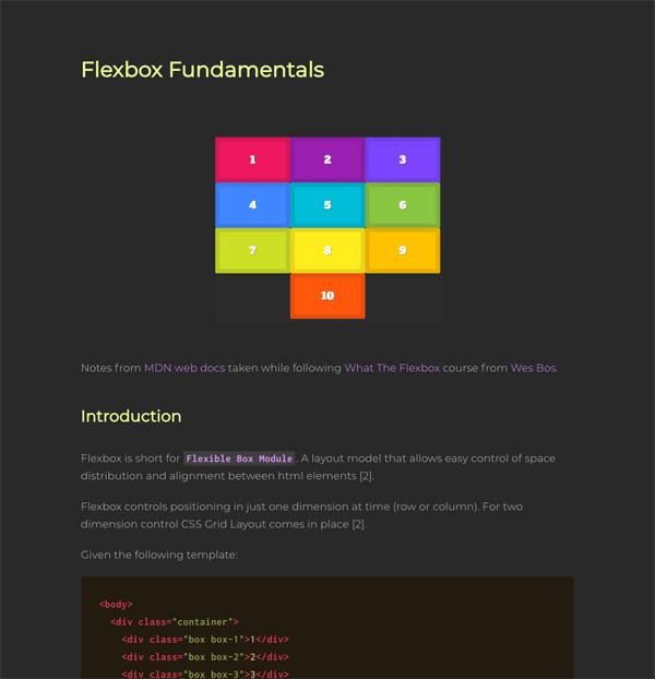 Flexbox Visual Guide Tutorial - Learn the basics of CSS Flexbox Module
