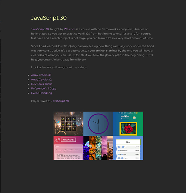 Javascript30