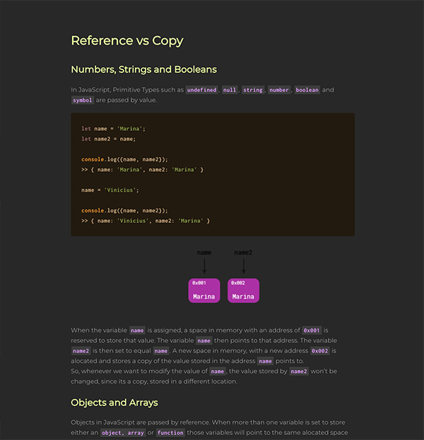 Reference vs Value
